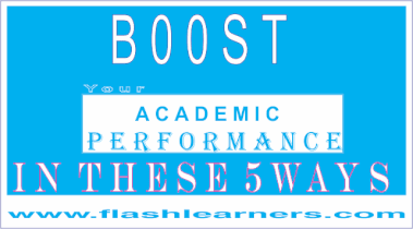 Boost Your Academic Performance In These 5 Ways