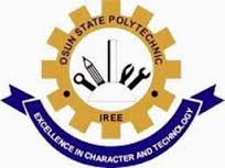 Osun Poly, Iree ND Daily Part-Time Admission List Out