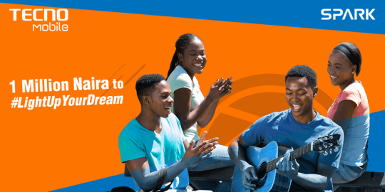 TECNO Mobile Rewarded 4 Youths With 4 Million Naira #LightUpYourDream