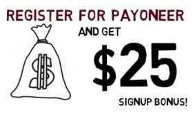 Sign Up For A Payoneer Account And Get Free $25