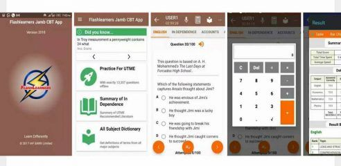 Flashlearners CBT Android