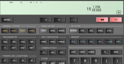 Jamb scientific calculator