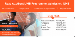 All About IJMB And Interim Joint Matriculation Board Examination (IJMBE) For 2018/2019