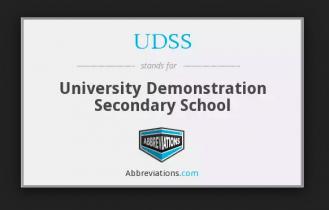 udss school