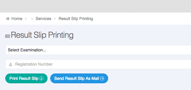 printing jamb result