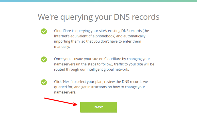 Cloudflare query dns