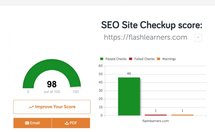 Onpage SEO Site Checkup