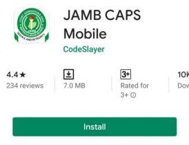 Jamb caps mobile app