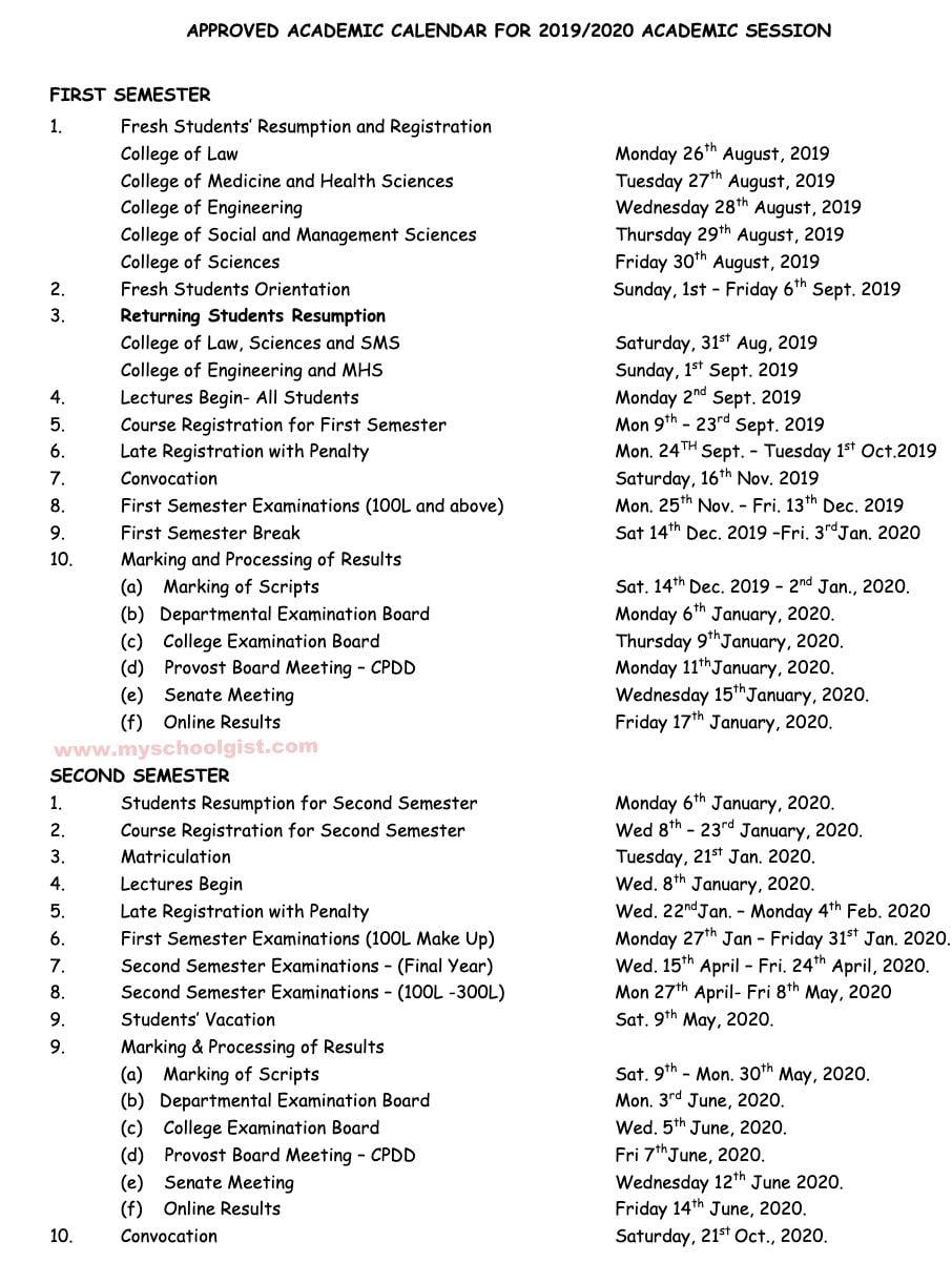 abuad-academic-calendar
