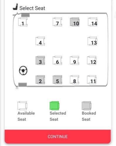 Gigm seats