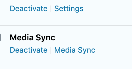 Media Sync