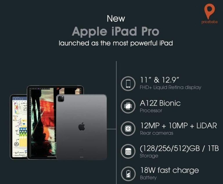 iPad Pro 2020 Specs & Price in Nigeria (2021 Price ...