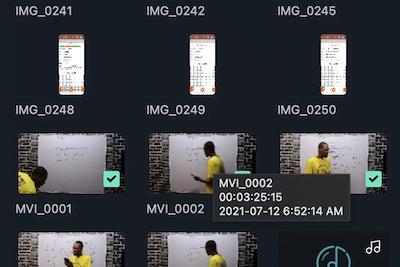 Movie Shorter in Video Editor